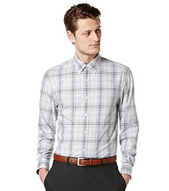 Perry Ellis® Men's Long Sleeve Ombre Check Button Down