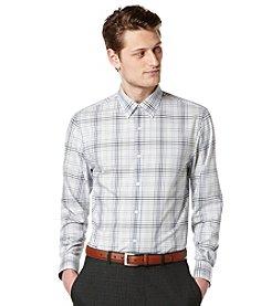 Perry Ellis® Men's Long Sleeve Ombre Check Button Down