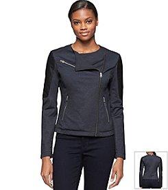 Calvin Klein Jeans® Denim Ponte Jacket