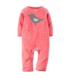 Carter's® Baby Girls' Newborn-9M Fleece Jumpsuit