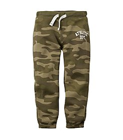 Carter's® Baby Boys' 12-24M Camo Fleece Active Pants