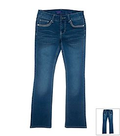 Lee® Girls' 7-16 Heavy Stitch Bootcut Jeans