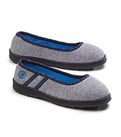 Isotoner Signature® Active Heathered Knit Skimmer Slippers