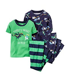 Carter's® Boys' 12M-8 4-Piece Mommy's Knight Lounge Outfit Set