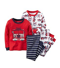 Carter's® Boys' 12M-8 Four-Piece Firetruck Rescue Lounge Outfit Set