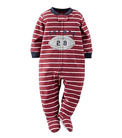 Carter's® Boys' 12M-4T Month Champs W/ Football Blanket Sleeper