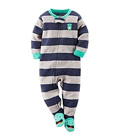 Carter's® Baby Boys' 3-24 Month Stripe Monster Blanket Sleeper