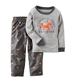 Carter's® Boys' 12M-12 2-Piece Fox Explorer Shirt & Pant Set