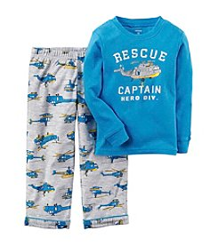 Carter's® Boys' 12M-12 2-Piece Rescue Helicopter Shirt & Pants Set