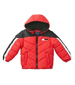 HK58  Boys' 4-20 Chevron Puffer Jacket