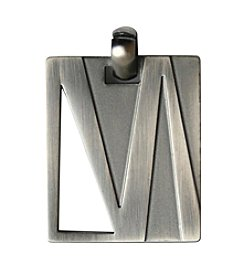 Stainless Steel Gunmetal Finish Design Pendant 22
