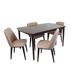 LumiSource Tintori 5-pc. Dining Set