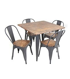LumiSource Oregon 5-pc. Dining Set