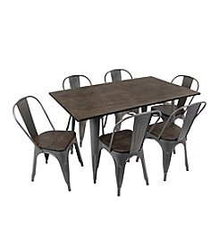 LumiSource Oregon 7-pc. Dining Set