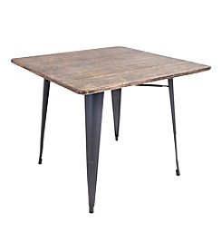 LumiSource Contemporary Oregon Dining Table