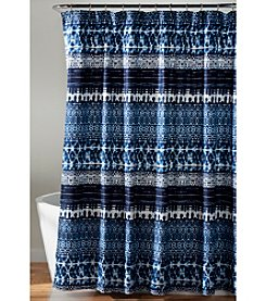 Lush Decor Lambert Tie-Dye Shower Curtain