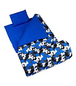 Wildkin Blue Camo Original Sleeping Bag