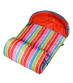 Wildkin Bright Stripes Stay Warm Sleeping Bag