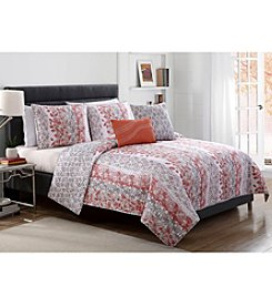 Victoria Classics Asian Botanical Amadora 5-pc. Quilt Set