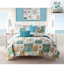 Victoria Classics Chevron Beach 5-pc. Quilt Set