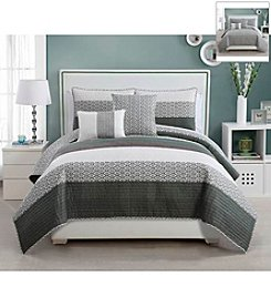 Victoria Classics Nova Denim 5-pc. Quilt Set