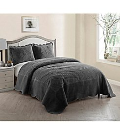 Victoria Classics Providence Quilted Plush Bedspread Set