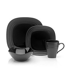 Mikasa® Swirl Black Dinnerware Collection