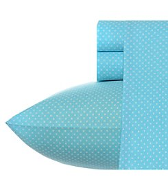 Betsey Johnson® Blue Dots Sheet Set
