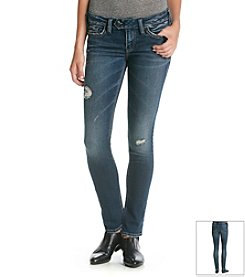 Silver Jeans Co. Jeans Destructed Skinny Jeans