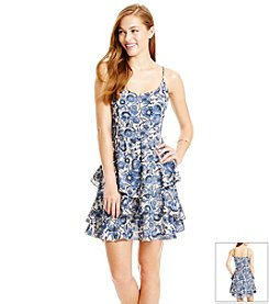 Jessica Simpson Paris Tiered Dress
