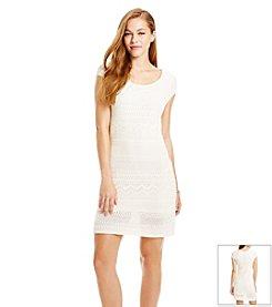 Jessica Simpson Crochet Shift Dress