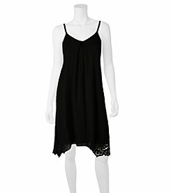 A. Byer Crochet Trim Cami Dress