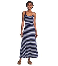Wallflower® Striped Maxi Blouson Dress