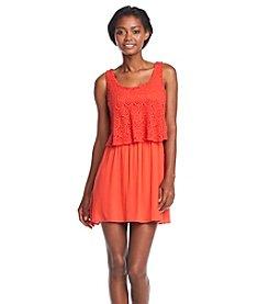 My Michelle Tank Popover Dress