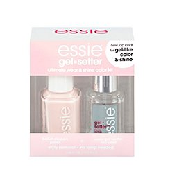 essie® Ballet Slippers + Gel Setter Top Coat Kit