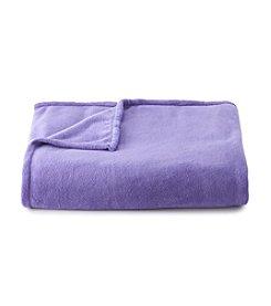 LivingQuarters Purple Micro Cozy Blanket