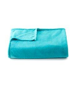 LivingQuarters Turquoise Micro Cozy Blanket