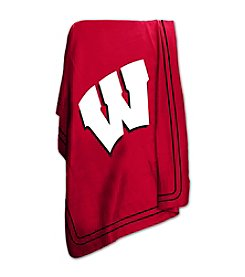 University of Wisconsin Logo Chair Classic Fleece Throw