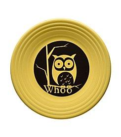 Fiesta® Whoo Owl Sunflower Luncheon Plate