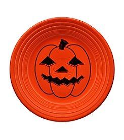 Fiesta® Spooky Pumpkin Poppy Luncheon Plate