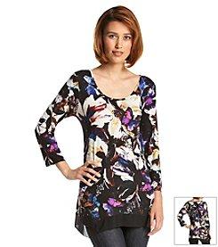 Cupio Floral Print Tunic