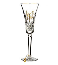 Waterford® Lismore Gold Champagne Partridge Flute