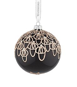 Waterford® Holiday Heirlooms Black Tie Ornament