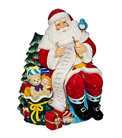 Waterford® Santa Cookie Jar