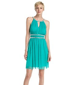 Jessica Howard® Jeweled Chiffon Party Dress