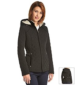 Laundry by Design Short Quilted Anorak Jacket
