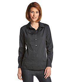 Nine West Jeans® Hazel Poplin Blouse