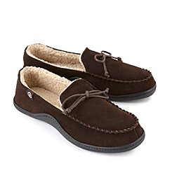 Isotoner® Signature Men's Suede Leather Moccasin