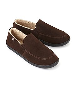 Isotoner® Signature Men's Suede Leather Slipper