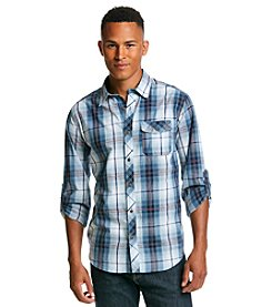 Ocean Current® Men's Long Sleeve Submarine Plaid Shirt